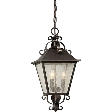 Forte Lighting 3 Light Outdoor Hanging Pendant