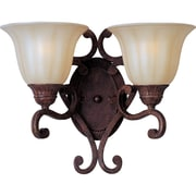 Maxim Lighting Augusta 2-Light Wall Sconce with Crystals