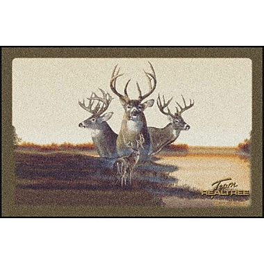 Milliken Realtree Team Realtree Bucks VII Doormat; 3'10'' x 5'4''