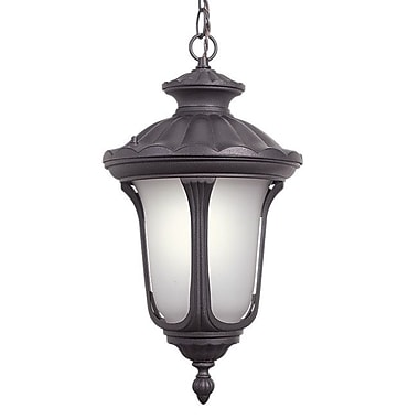 Woodbridge Westbrook 1 Light Outdoor Hanging Pendant; Powder Coat Rust