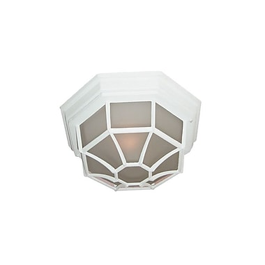 Woodbridge Basic 1 Light Flush Mount