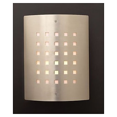 PLC Lighting 1-Light Outdoor Flush Mount