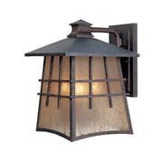 Designers Fountain Oak Park Outdoor Wall Lantern; 13'' H x 9.5'' W