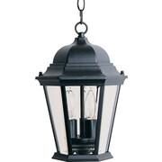 Maxim Lighting Westlake 3 Light Outdoor Hanging Lantern; Black
