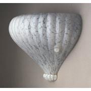 PLC Lighting Capricio-I 2 Light Wall Sconce; White