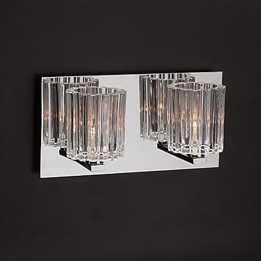 PLC Lighting Felicia 2 Light Vanity Light