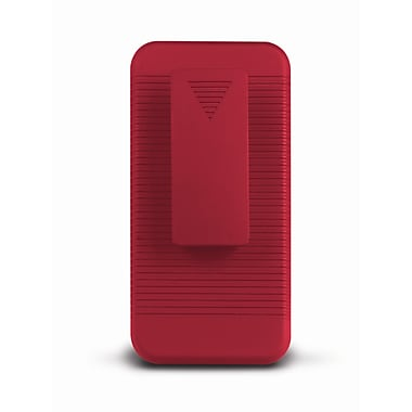 iessentials iPhone 5 Case and Holster Combo; Red