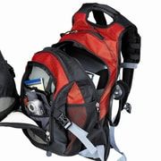 Preferred Nation Thrill Seeker Computer Backpack; Red