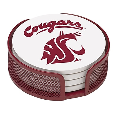 Thirstystone 5 Piece Washington State University Collegiate Coaster Gift Set