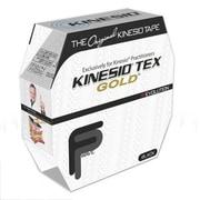 Kinesio Tex Gold Finger Print Tape Bulk Roll; Black