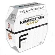 Kinesio Tex Gold Finger Print Tape Bulk Roll; White