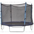 SKYBOUND 8' Enclosure Trampoline Net Using 4 Straight Poles