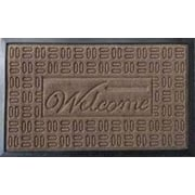 Achim Importing Co Parquet Welcome Mat; Grey