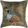 Rizzy Home Poly Velvet Pillow Cover