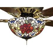 Meyda Tiffany Tiffany Renaissance 3 Light Ceiling Fan Light