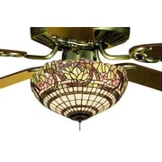 Meyda Tiffany Handel Grapevine 3 Light Bowl Fan Light Fixture