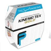 Kinesio Tex Gold Finger Print Tape Bulk Roll; Blue