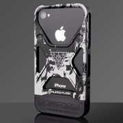 Rokform Rokbed Fuzion Filipino Flash iPhone 4/4S Case; Black