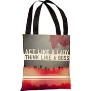 One Bella Casa Oliver Gal Act Like a Lady Tote Bag