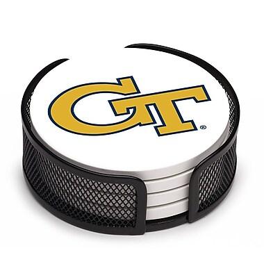 Thirstystone 5 Piece Georgia Tech Collegiate Coaster Gift Set