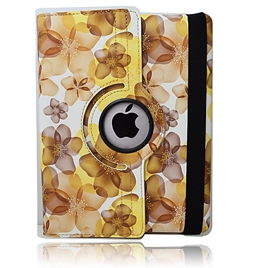Bargain Tablet Parts iPad Blossom Rotating Case; Yellow