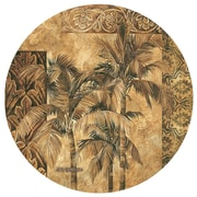 Thirstystone Golden Palm Tapestry Occasions Coaster (Set of 4)