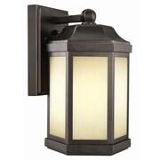Design House Bennett 1-Light Outdoor Wall Lantern