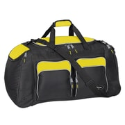 Travelers Polo & Racquet Club Adventurer 28'' Travel Duffel; Yellow / Black