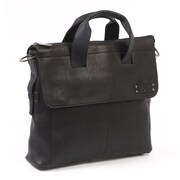 Claire Chase Messenger Bag; Black