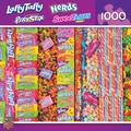 MasterPieces Candy Brands Wonka Candies 1000 Piece Jigsaw Puzzle