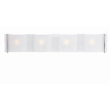 Access Lighting Mercury 4 Light Bath Bar