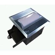 Aero Pure 110 CFM Energy Star Bathroom Fan with Light / Nightlight; Satin Nickel