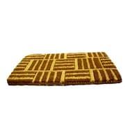 Imports Decor Light Criss Cross Doormat; 18'' x 30''