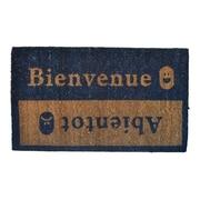 Imports Decor Molded Beinvenue-Abientot Doormat; 30'' x 18''