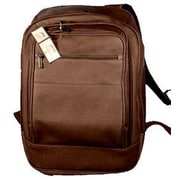 David King Oversized Laptop Backpack; Caf  / Dark Brown