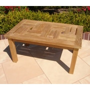 Royal Teak Teakwood Chippendale Coffee Table