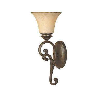 Designers Fountain Mendocino 1 Light Wall Sconce