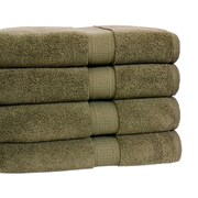 Calcot Ltd. Growers Bath Towel (Set of 4); Moss Green