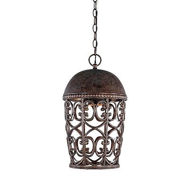 Designers Fountain Amherst 1-Light Outdoor Pendant
