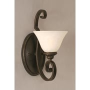 Toltec Lighting Elegante 1-Light Wall Bracket