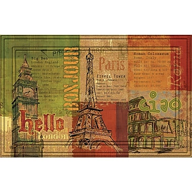 BuyMATS Naturelles Hello, Bon Jour, Ciao Doormat