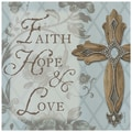 Thirstystone Faith, Hope and Love Cross Occasions Trivet