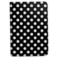 Bargain Tablet Parts Ipad Mini Polka Dot Rotating Case; Black