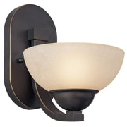 Dolan Designs Fireside 1-Light Wall Sconce; Bolivian