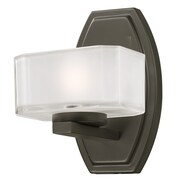 Z-Lite Cabro 1 Light Vanity Light; Painted Bronze