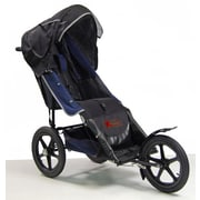 Adaptive Star Axiom Improv 1.5 24'' Indoor/Outdoor Mobility Push Chair; Navy