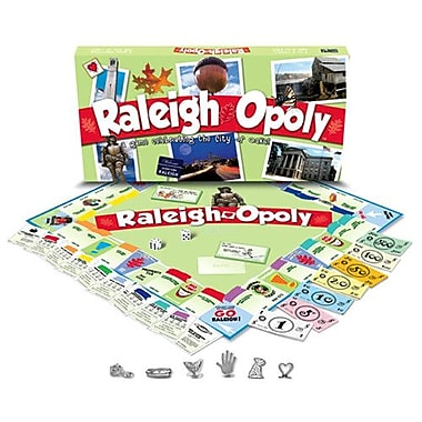 Late for the Sky Raleigh-Opoly Board Game