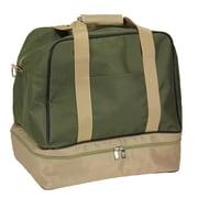 Household Essentials 11.5'' Weekender Bag; Olive
