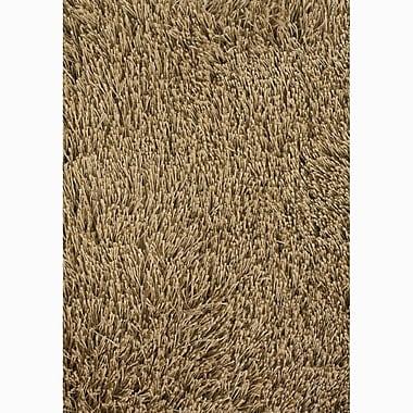 Chandra Rivera Brown/Tan Area Rug; 5' x 7'6''