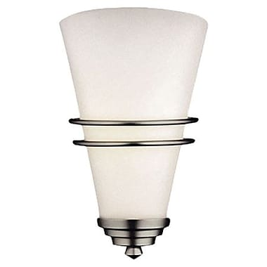 Philips Niles Large 1-Light Wall Sconce; 1 x 75W Medium Base Incandescent